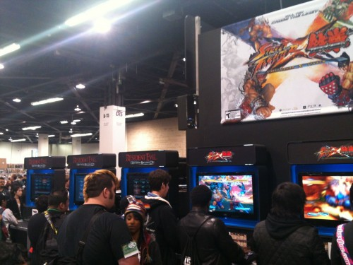 Wondercon Capcom Booth 2