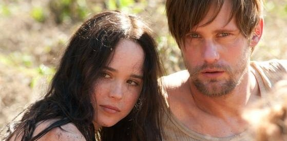 Ellen Page and Alexander Skarsgård in 'The East'