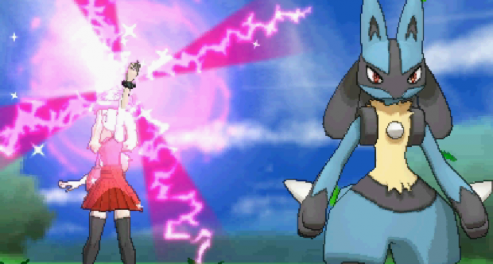 Pokemon XY Lucario Mega Evolution
