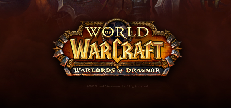 WoW Warlords of Draenor Banner