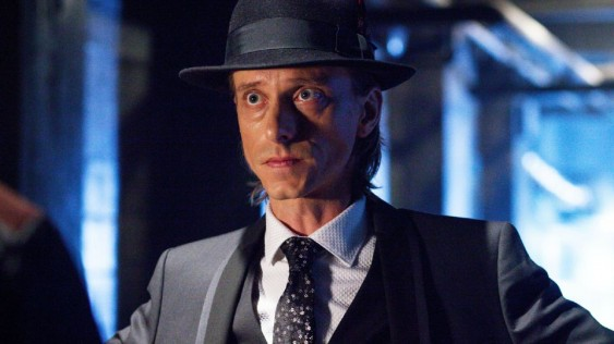 "Rudy Lom (Mackenzie Crook) goes undercover in this week's Almost Human episode, ""The Bends."" Courtesy of Fox."