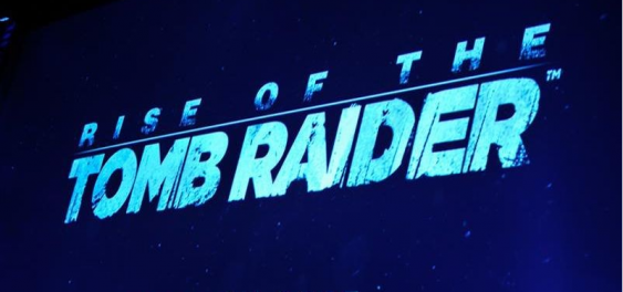 Rise of the tomb raider e3 banner