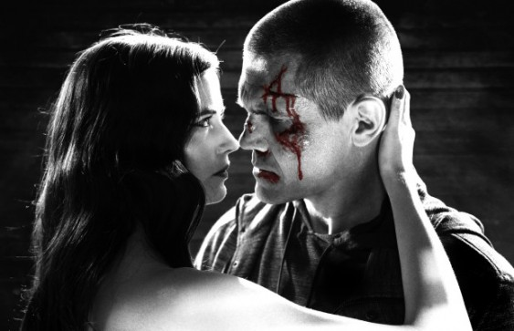 Josh Brolin and Eva Green as Dwight and Ava in Sin City: A Dame to Kill For