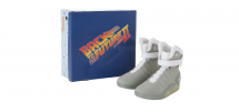 Back to the future shoes banner