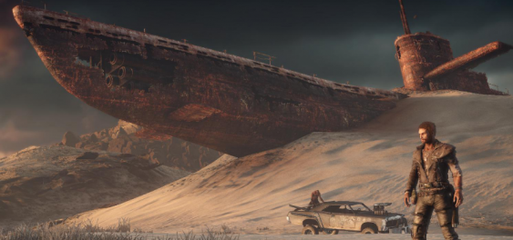 Mad Max Game Banner