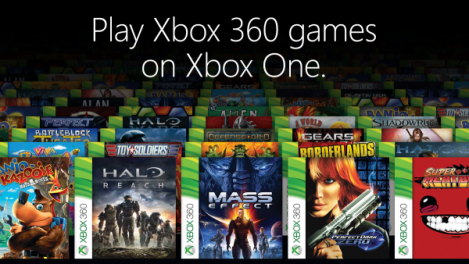 Xbox One Backwards Compatibility E3 Banner