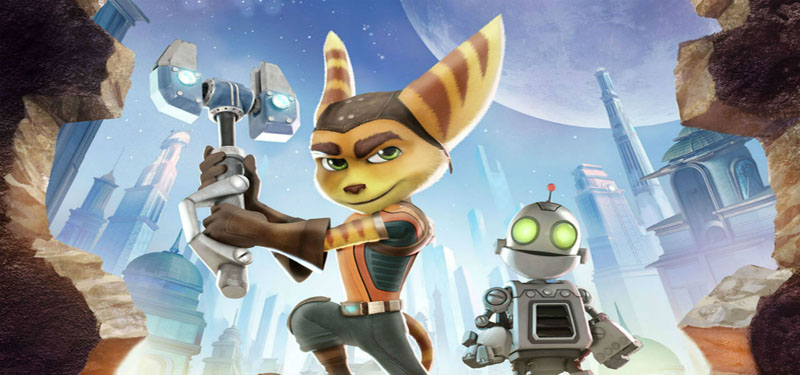 Ratchet & Clank Movie Banner