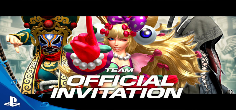 King of Fighters XIV Team Official Invitation