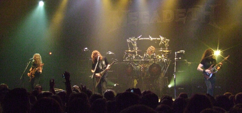 Megadeth Monday Music Banner