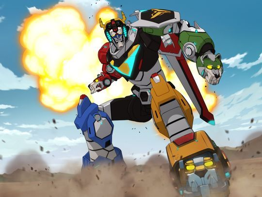 """You can go ahead and tell the Power Rangers, they'll be hearing from my Lawyer."" - Voltron*"