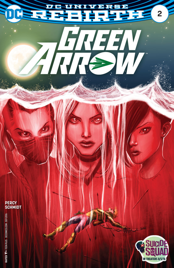 Green Arrow 2 Cover